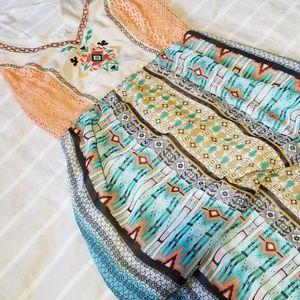 Altar'd State Tribal Maxi Dress